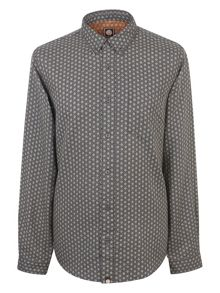 Pretty Green Drayton Geometric Shirt