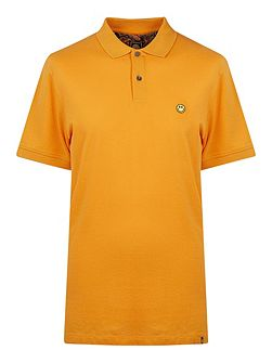 Short Sleeve Smiley Polo