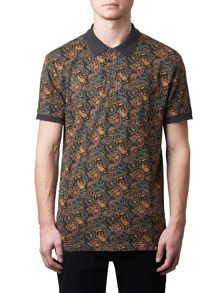 Pretty Green Gretton Paisley Polo