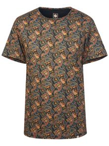 Pretty Green GRETTON PAISLEY T-SHIRT