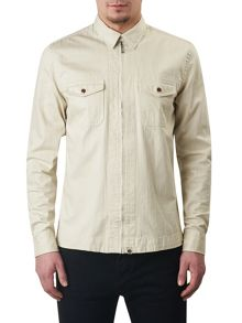 Pretty Green Blagrave Denim Shirt