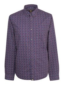 Pretty Green Slim Fit Rindle Shirt
