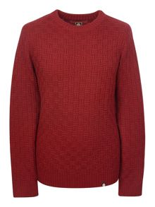 Pretty Green Birchfield Crew Neck Jumper