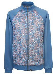 Pretty Green Camley Paisley Track Top