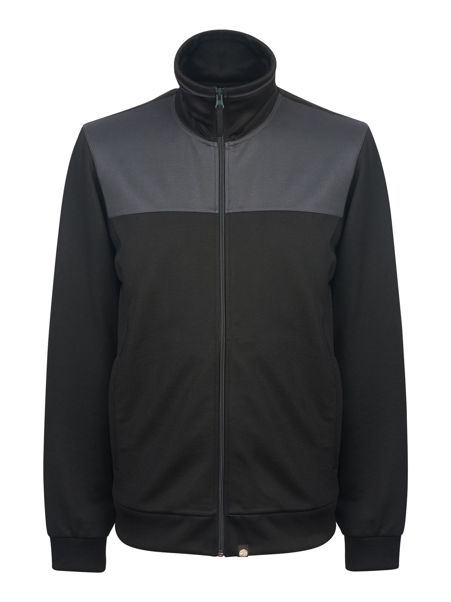 Men's Pretty Green Edzell Track Top, Black