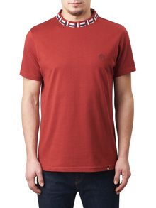 Pretty Green Plecteom Rib Neck T-shirt