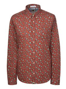 Pretty Green Wynne Floral Print Shirt