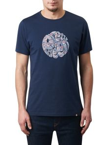 Pretty Green Camley Paisley Applique T-Shirt