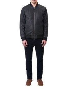 Pretty Green Albion Leather Jacket
