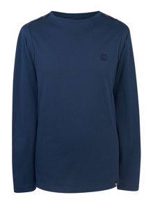 Pretty Green Long Sleeve Lanacre T-Shirt