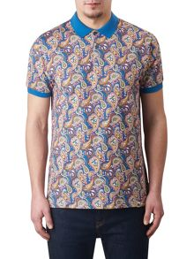 Pretty Green Vintage Paisley Polo