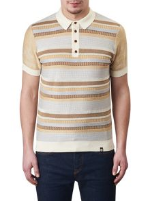 Pretty Green Fortrose Knitted Polo