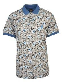 Pretty Green Chilton Floral Polo