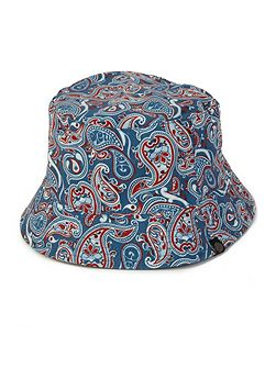 Camley Paisley Reversible Bucket Hat