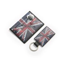 Pretty Green UJ Keyring And Card Holder Gift Set