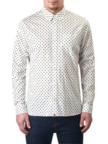 Pretty Green Irwin Polka Dot Shirt