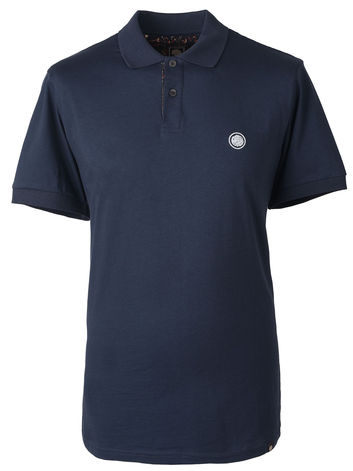 Men's Pretty Green Cotton Polo Shirt, Blue