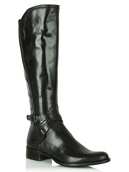 Idil knee length flat boots