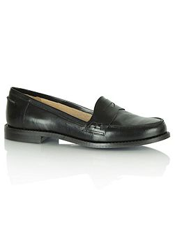 Braces flat loafers