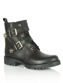 Maglie lace up military boots