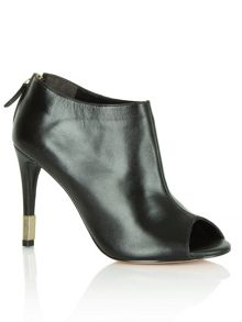 Swoon peep toe ankle boots