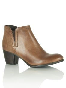 Weapon ankle boots