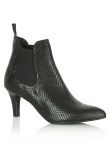 Reptile aclara ankle boots