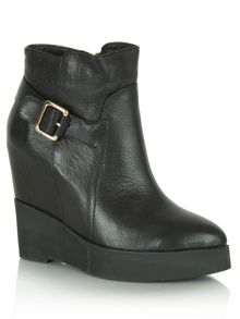 Opare wedge ankle boots