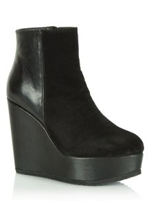 Abraham wedge ankle boots