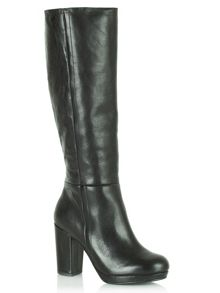 Yoshima knee high boots