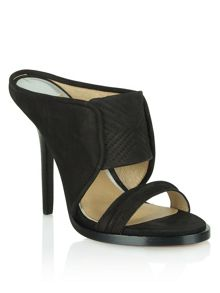 Melmerby two strap mule sandals