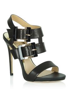 Sharmila gold buckle and strap sandals