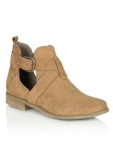 Daniel East street cut out side ankle boots
