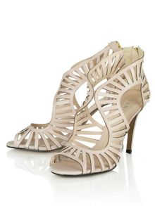 Kingsbury cut out heeled sandals