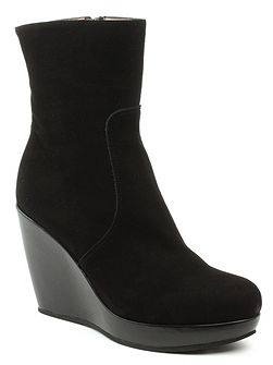 Krissy wedge ankle boots