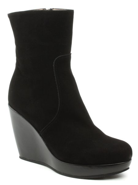 Daniel Krissy wedge ankle boots