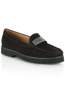 Daniel Genuine diamante embellished loafers