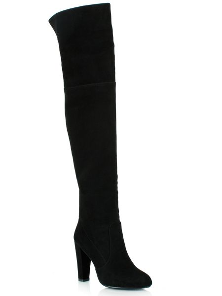 Daniel Perfect suede over the knee boots