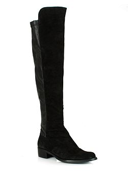 Naste 2 elasticated back knee boots