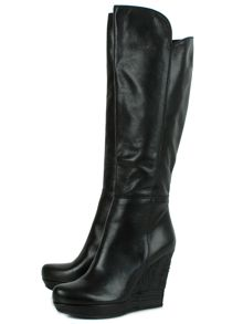 Wiser leather knee high boots