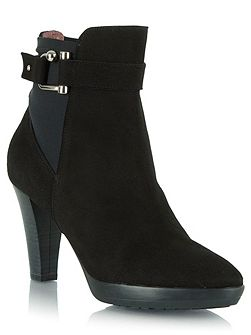 Joyfully buckled ankle boots