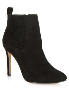 Daniel Jumpy buckle wedge ankle boots