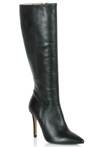 Excellence pointed toe knee high boots