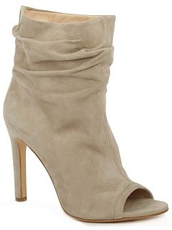 Bloomington rouched ankle boots