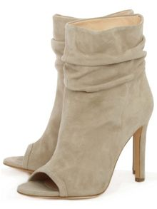 Daniel Bloomington rouched ankle boots