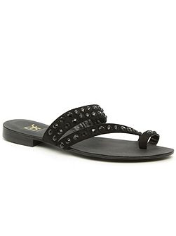 Braydon toe loop embellished sandals