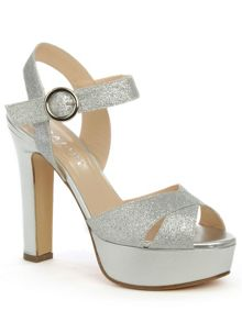 Daniel Dasher metallic platform sandals