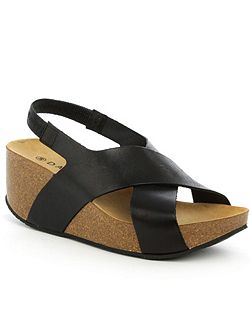 Flagstaff mid wedge sandals