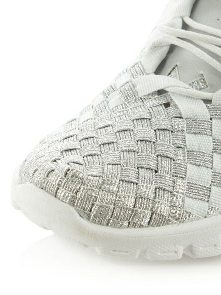 Daniel Hollywood hills woven elastic trainers