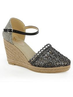 Kingscavil espadrille wedge sandals